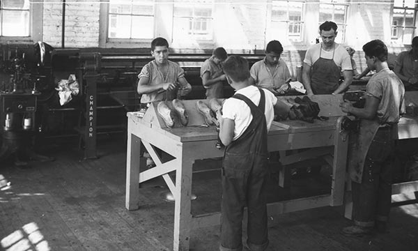 Cobblers Making Shoes