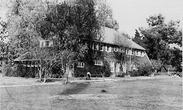 Tudor Revival Cottage for Boys during Nelles Tenure (demolished)